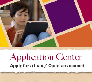 Application Center - Apply for a loan / Open an account